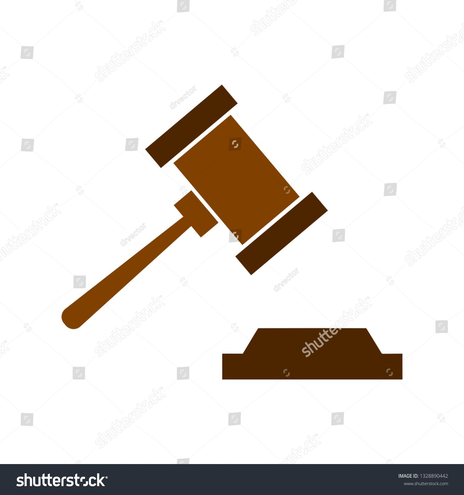 Auction Hammer Icon Justice Sign Symbol Sponsored Affiliate Icon Hammer Auction Symbol Symbols City Illustration Auction
