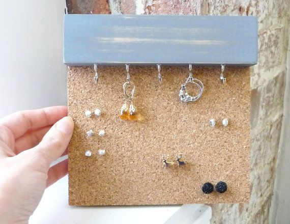Earring Studs Holder Small Stud By Freshlyframed
