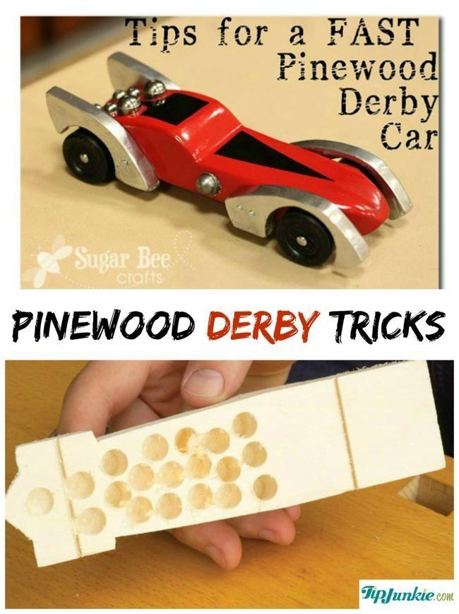 Pinewood Derby Tricks-jpg | Scout stuff | Pinterest | Pinewood ...