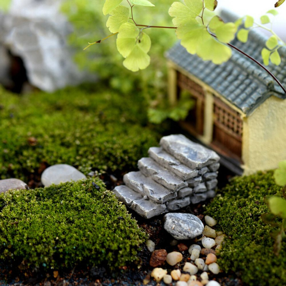 2 styles steps stairs fairy garden miniatures gnomes moss terrariums ...