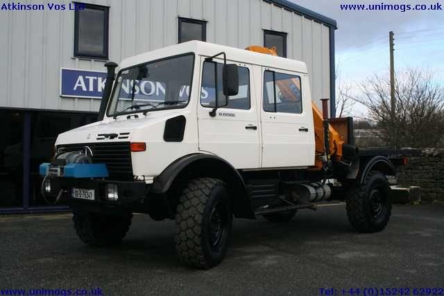 Unimog U1550L37 Double cab
