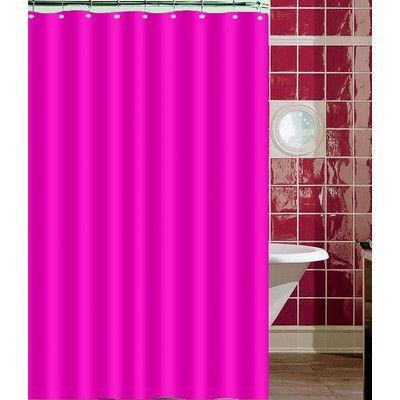 Daniels Bath Shower Curtain Color: