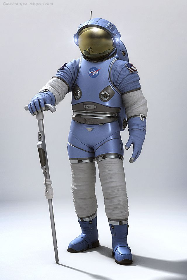 NASA's Next Spacesuit - kollected … | Space suit, Space ...
