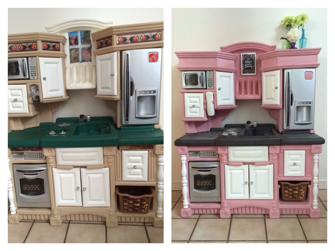 Step 2 Lifestyle Dream Kitchen Makeover A Few Cans Of Spray