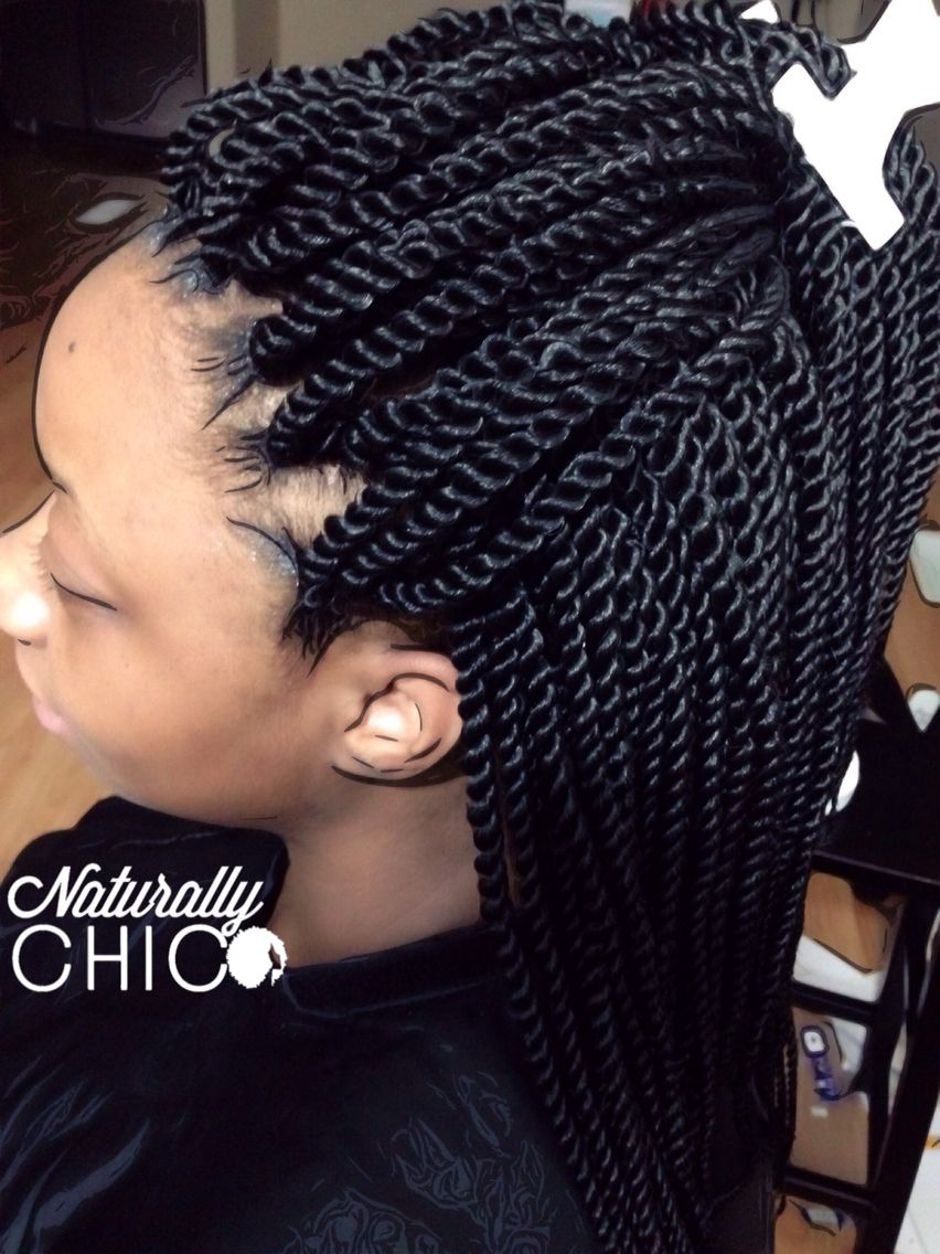 Crochet Senegalese Twists Size Small