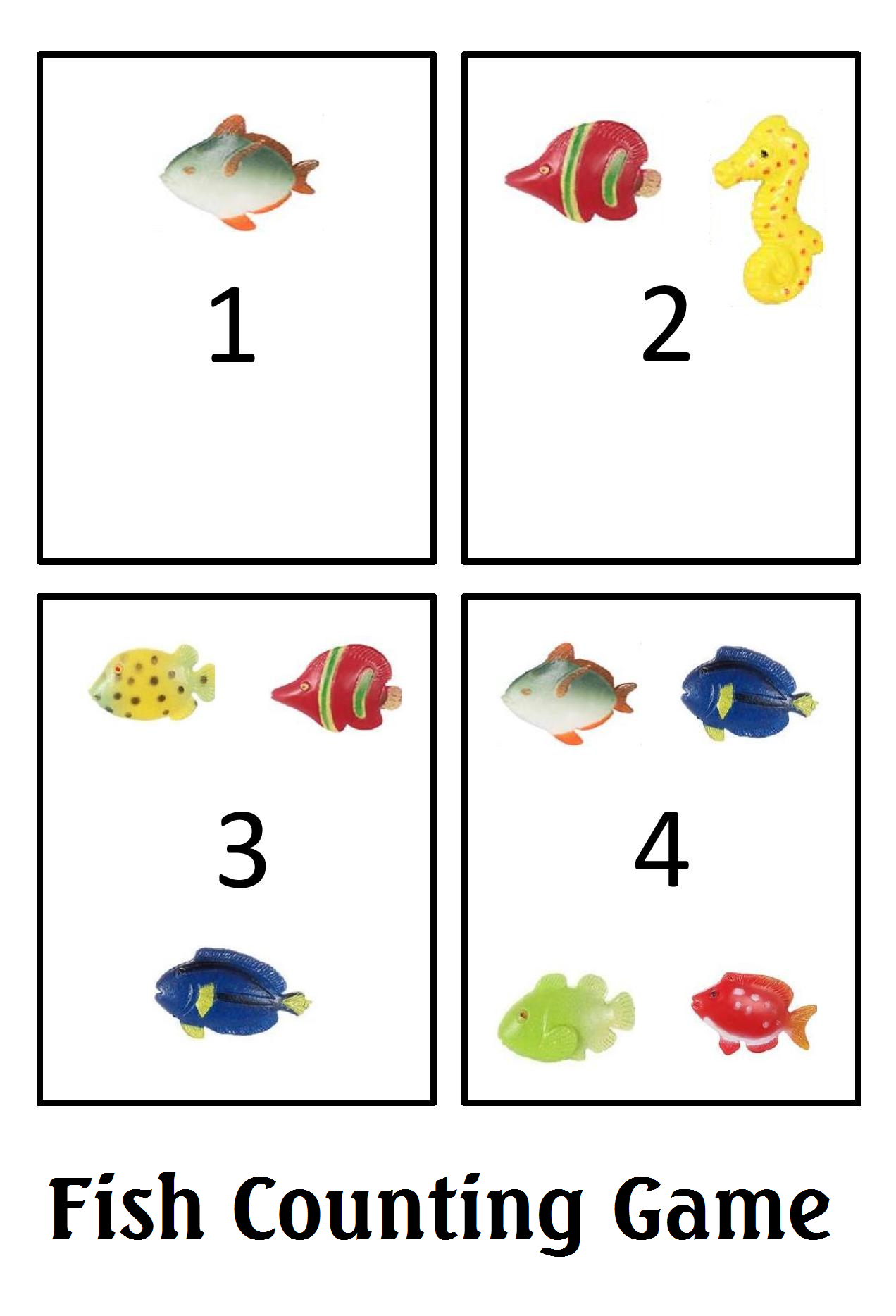 Fish Counting Game In