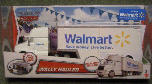 Disneypixar Cars Exclusive Diecast Vehicle Wally Hauler 155 Scale