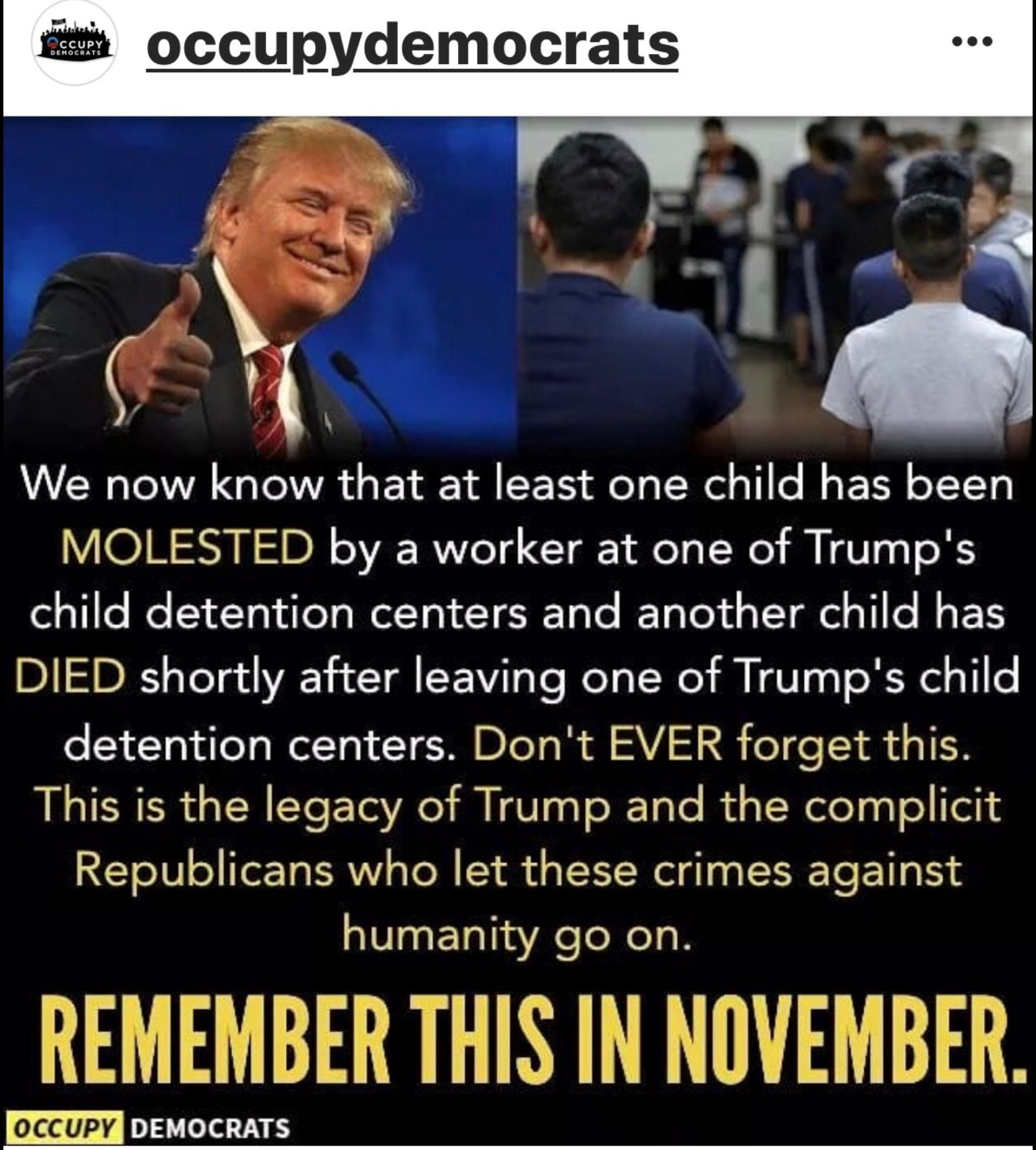 We Must Never Forget What This Animal Has Done Too Many Atrocities To Mention Trump Kids First Child Never Forget