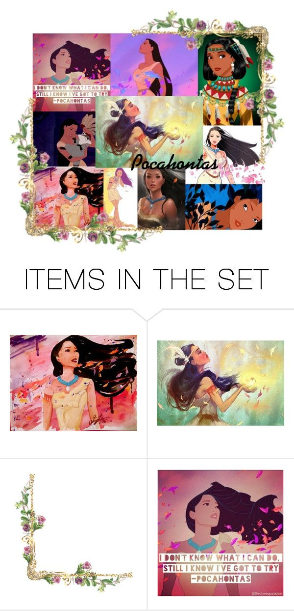 """""""Pocahontas - Indian Princess"""" by the-pink-ranger ❤ liked on Polyvore featuring art"""