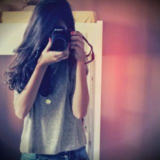Beautiful Girl With Camera Profile Picture For Fb Profile Covers