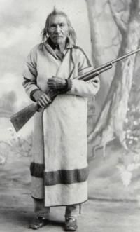 Red Thunder was very important in the history of the Turtle Mountain Chippewa. He was a secondary chief to Little Shell III. He was appointed by Little Shell III to preside over his 24-member council in Little Shell III's absence. He was instrumental in the McCumber Commission. Red Thunder is recognized for the speech he gave to the McCumber Commission