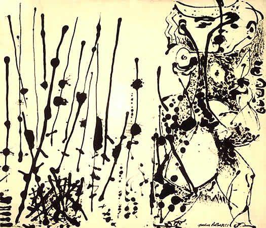 Imagenes Jackson Pollock Y El Action Painting Imagenes De Arte Abstracto Action Painting Jackson Pollock