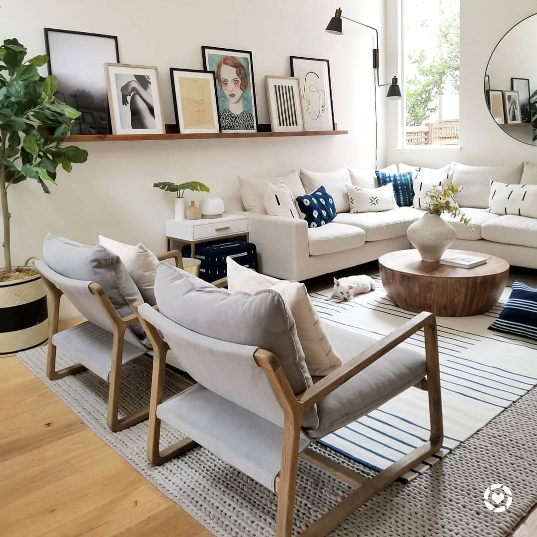 50 Brilliant Living Room Decor Ideas In 2019: DIY 10 Foot Picture Ledge In 10 Steps For Under $50 Bucks
