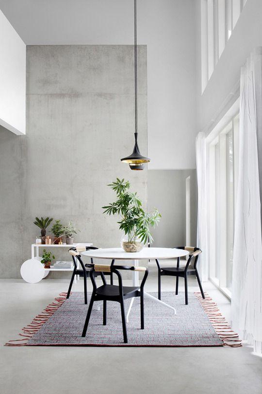 dailydesigner Home Sweet Home Pinterest Interiors, Room and Dining - Die Elegante Ausstrahlung Vom Modernen Esszimmer Design