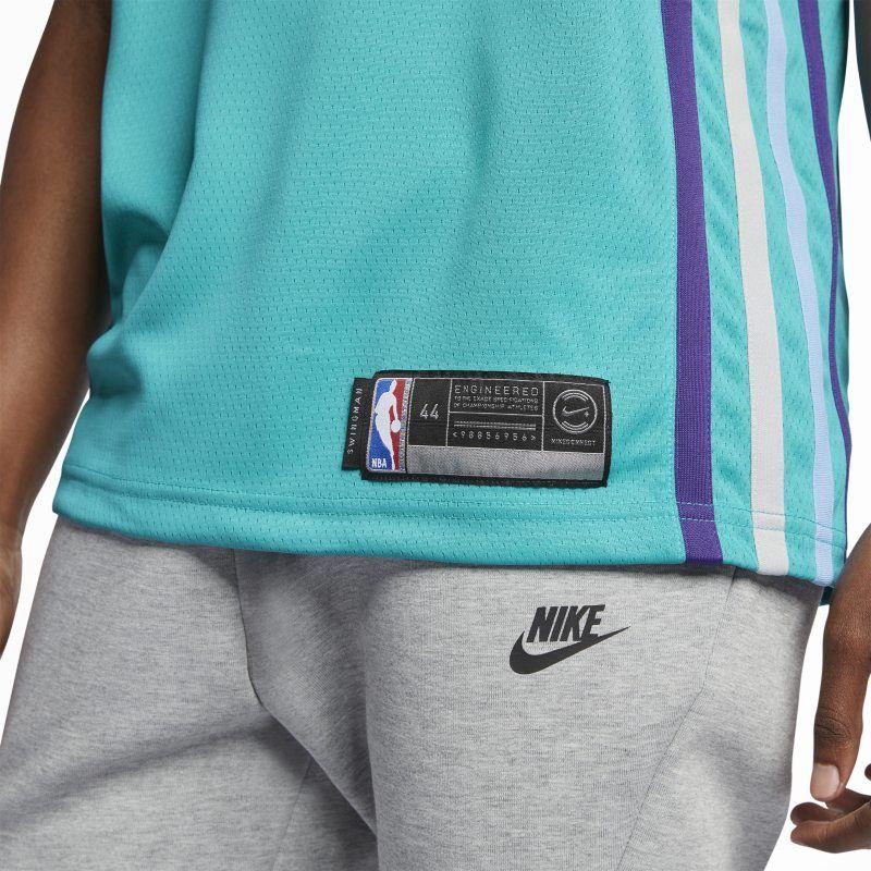 Kemba Walker Icon Edition Swingman Jersey (Charlotte Hornets) Men s Jordan  NBA Connected Jersey - Blue f8faec034