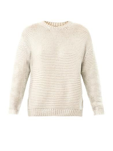 Stella McCartney Metallic foil sweater