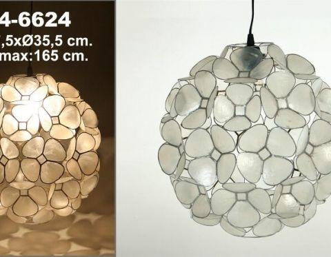 Casa Y Arte Tienda De Decoración E Interiorismo En Burgos Ficha De Producto Techo Nácar Flores Lámparas De Techo Decoración De Unas Tiendas Decoracion