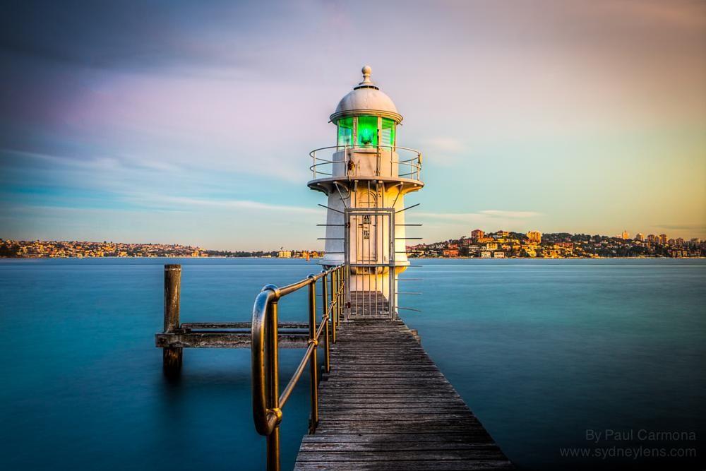 Bradleys Head Light Tower by Paul Carmona