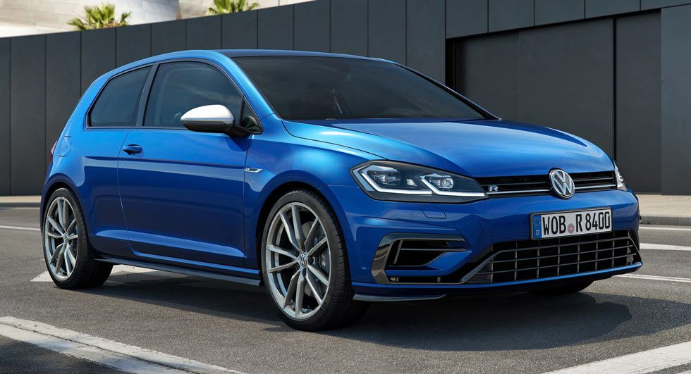 Facelifted 2017 Vw Golf R Gets 310ps New 1 0 Tsi And 4motion Tdi Join The Range Too