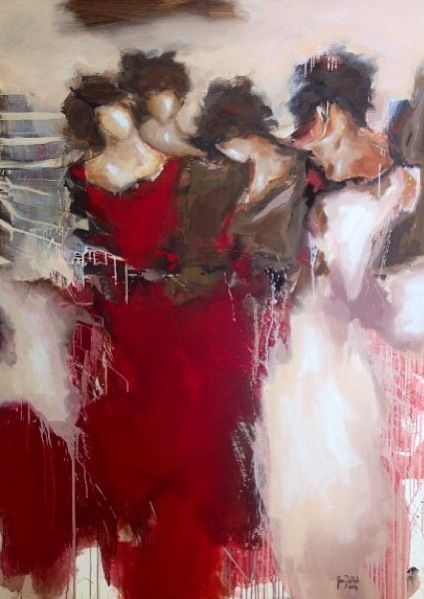 mona nahleh 'Consolation' 120x150cm 2014