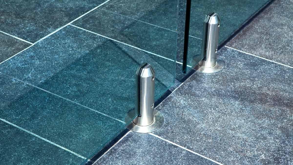 Minispigot Glasspoolfence Roundspigot Glass Pool Fencing Pool Fence Garden View