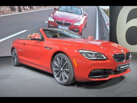2016 Bmw 6 Series Convertible Youtube