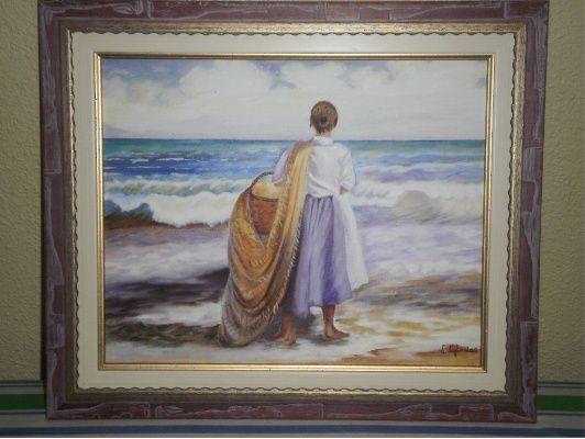cuadros pintados al oleo de 532 400
