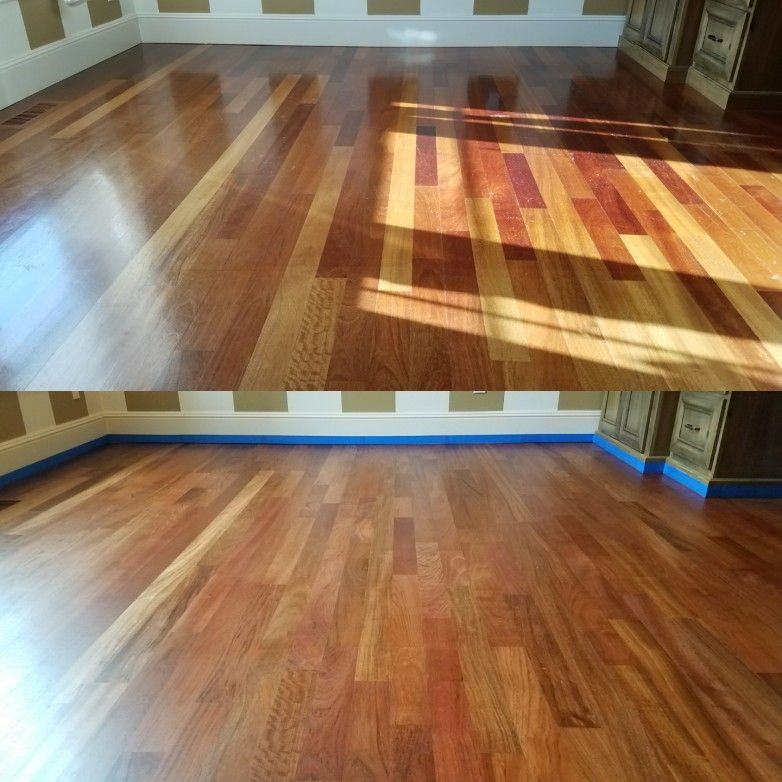 Top 3 1 4 Inch Brazilian Cherry Hardwood Aged With