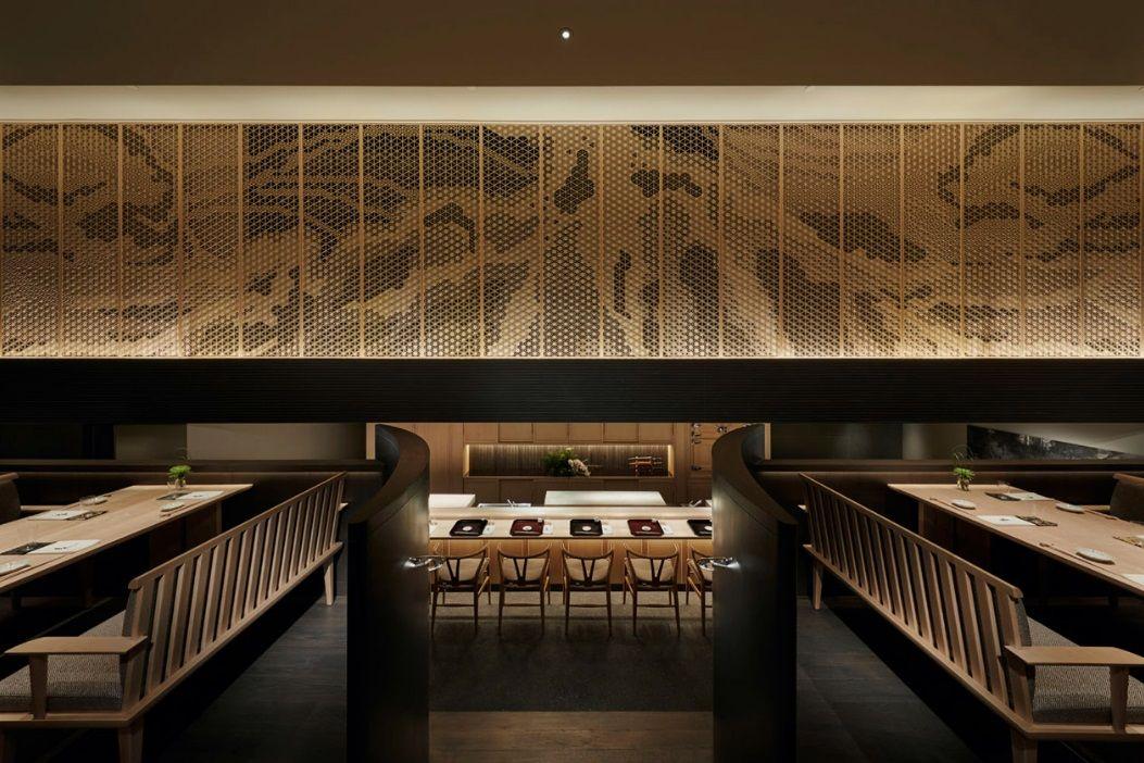 Aoki Sushi Singapore By Spin Design Studio Japanese Restaurant Design Japanese Restaurant Interior Bar Design Restaurant