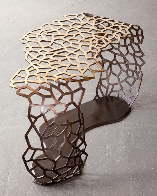 David Wiseman || lattice ribbon table