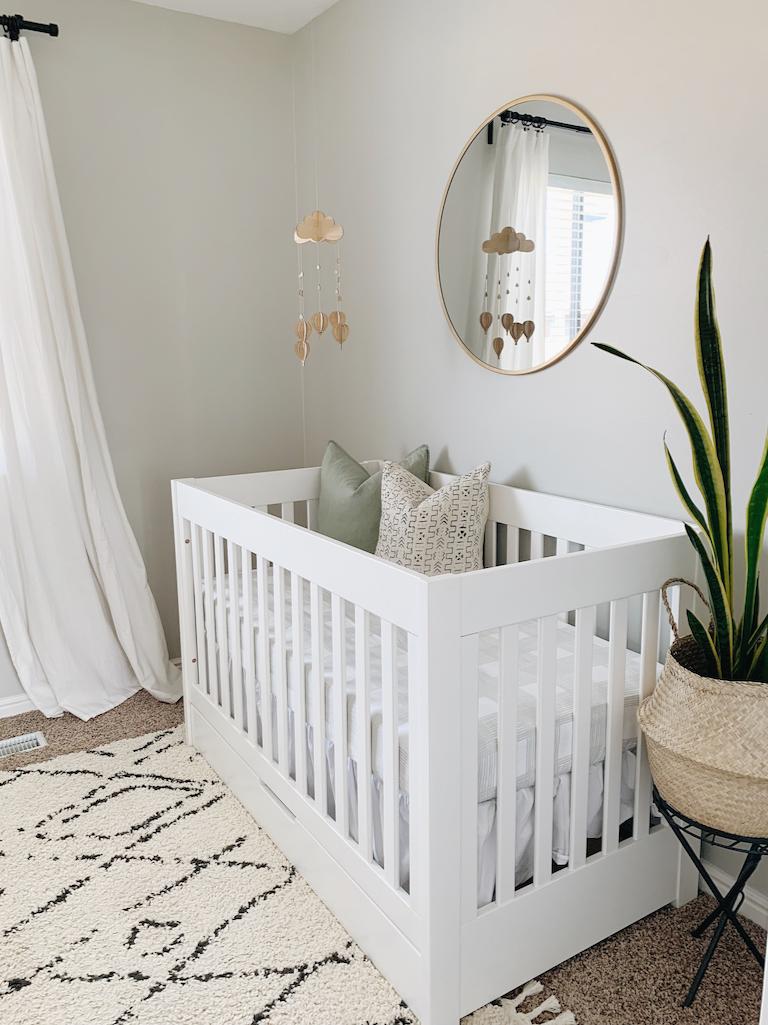 Leo S Cozy Nursery Reveal White Nursery Furniture Modern Nursery Furniture