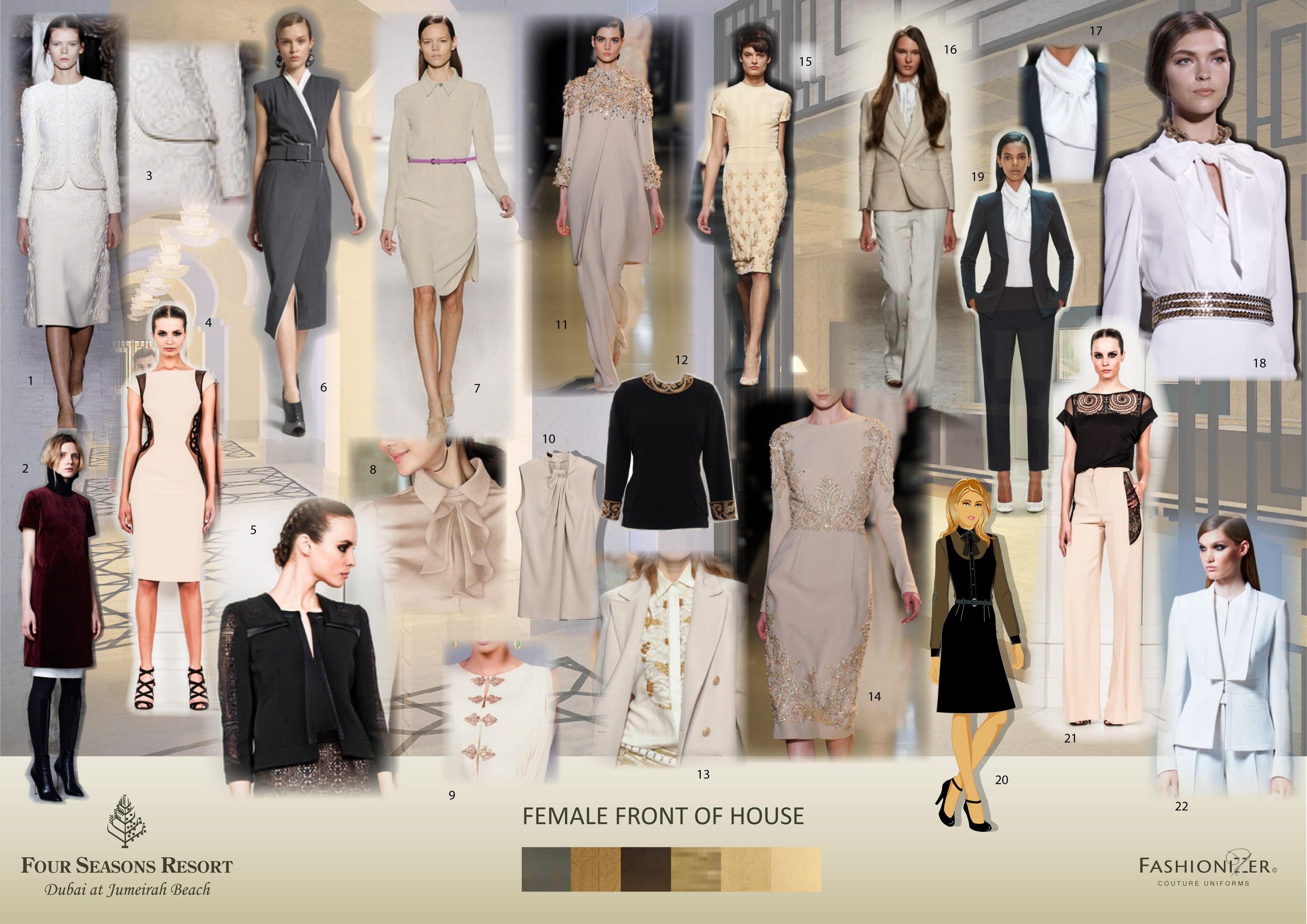 Fashionizer uniform designs for aman spa at the connaught for Spa uniform dubai