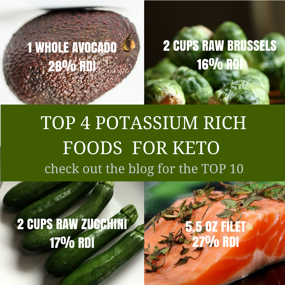 diet requirements of potassium on keto