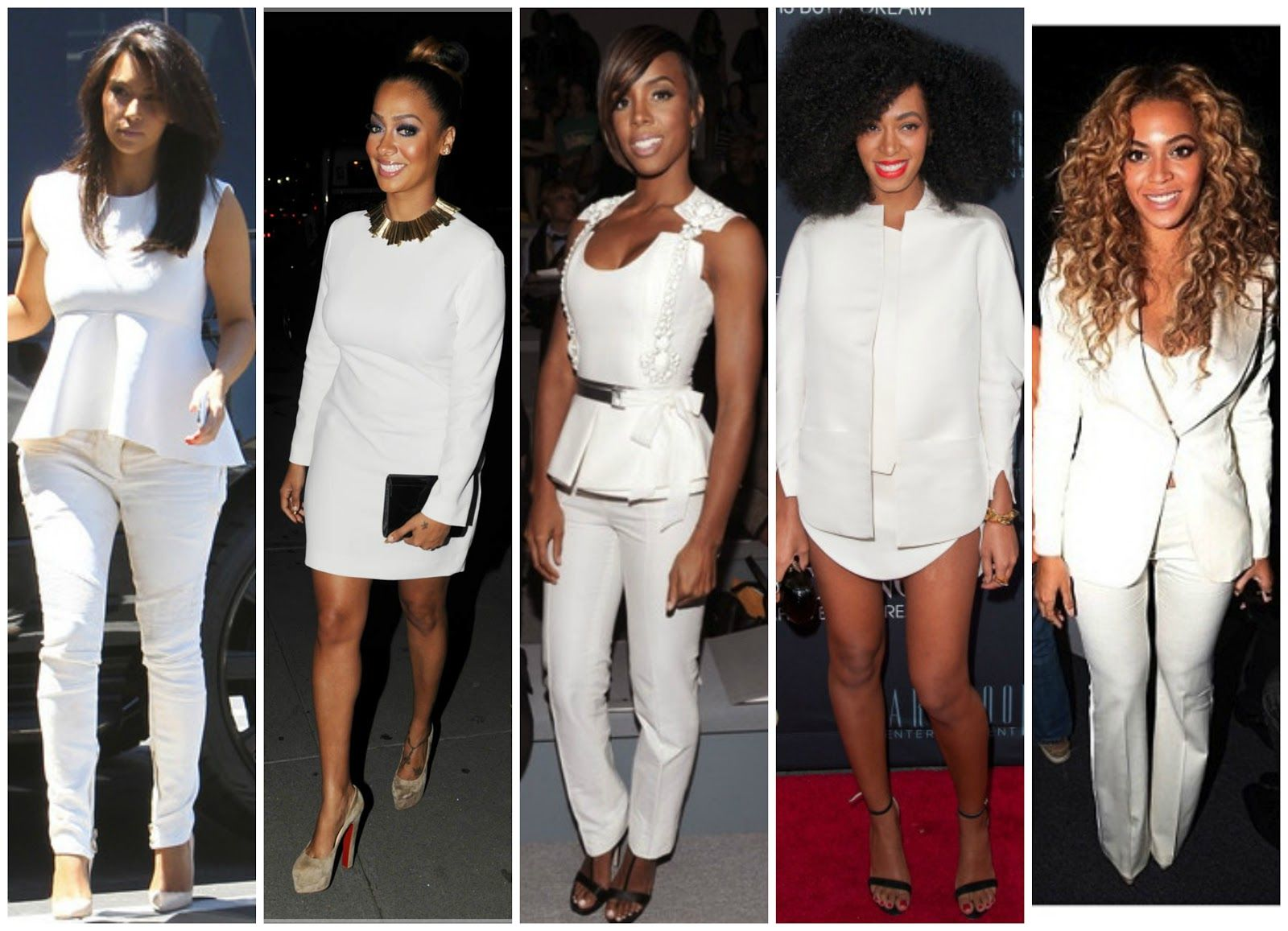 beyonce all white looks | ... white skinny jeans and nude pumps to ...