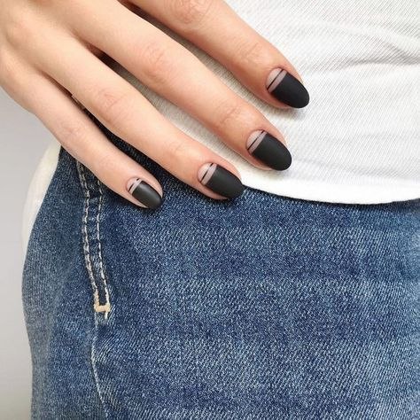 trendy nails design almond shape beautiful 58 ideas