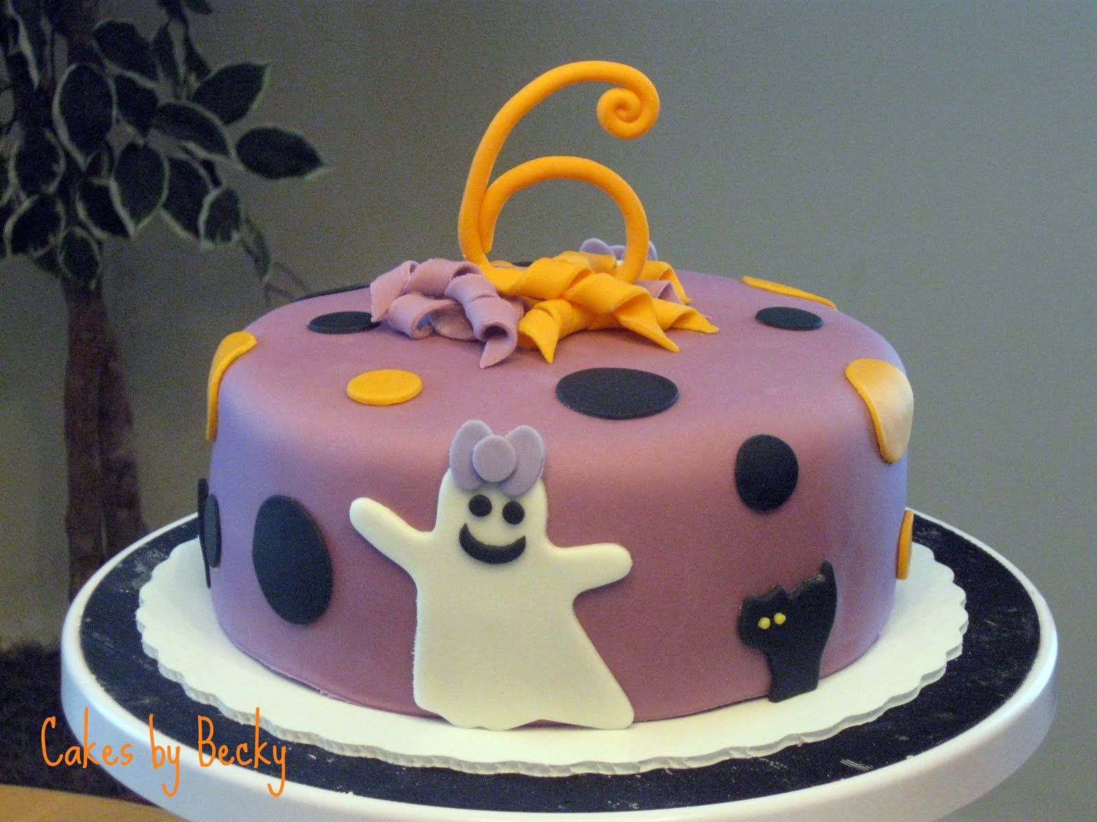 girlshalloweencakes Not So Scary Halloween Birthday Cake Cakes