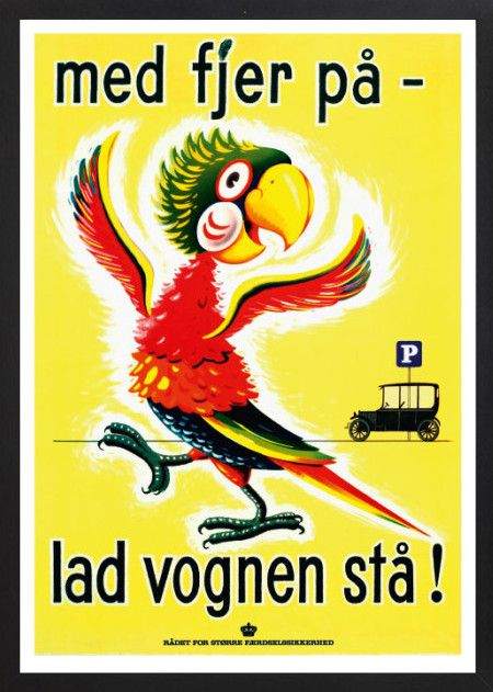 Viggo Vagnby Lad Vognen Sta Plakater Vintage Plakater Retro