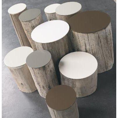 Tables Basses Tupilak Mobilier Design Pinterest Rondin De Bois