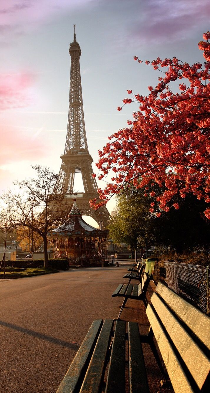 Wallpaper Iphone Autumn With Images Eiffel Tower
