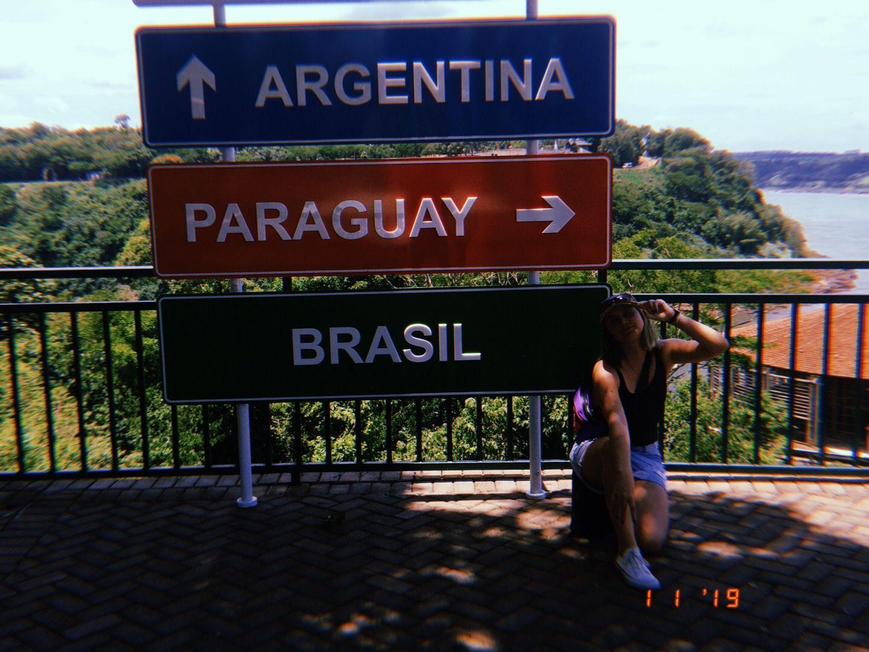 Marcos Das 3 Fronteiras: Brasil, Paraguai E Argentina