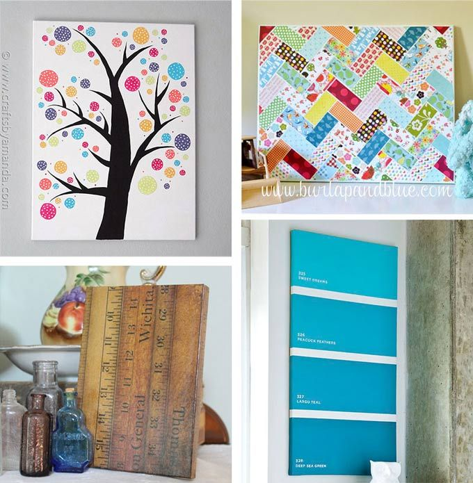 diy canvas wall art ideas 30 canvas tutorials wall art