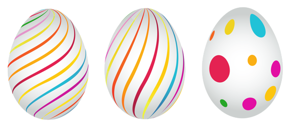 Easter Eggs Png Clipart Picture Easter Eggs Happy Easter Card Free Clip Art