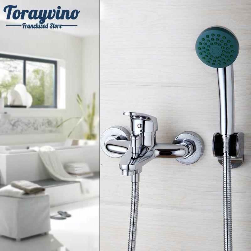 Bathroom Simple Set Bathroom Shower Faucets Bathtub Faucet Mixer