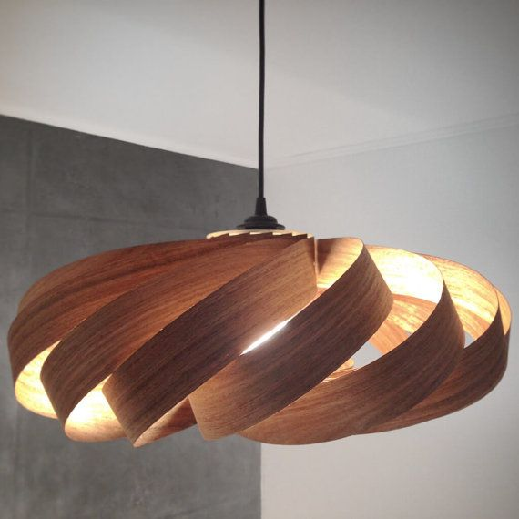 Lampe Holz Design : furnier lampe echtes holz design h ngelampe hout pinterest real wood lights and woods ~ Buech-reservation.com Haus und Dekorationen