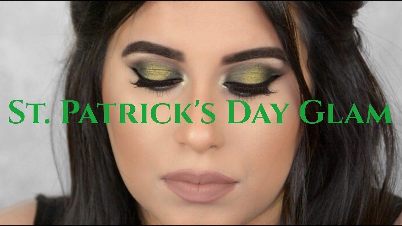 QUICK Saint Patrick's Day Smokey Eye   NEELAM SAYANI