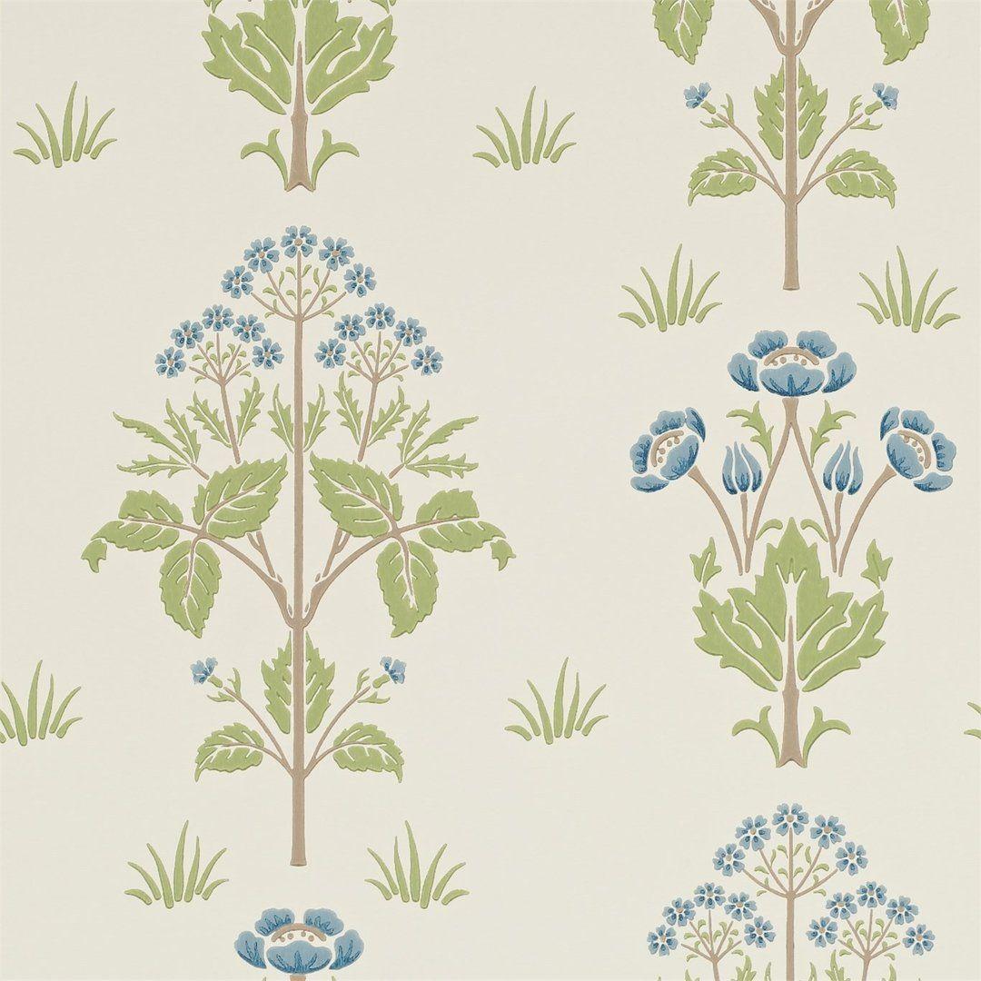 Meadow Sweet Cornflower/Leaf 210348
