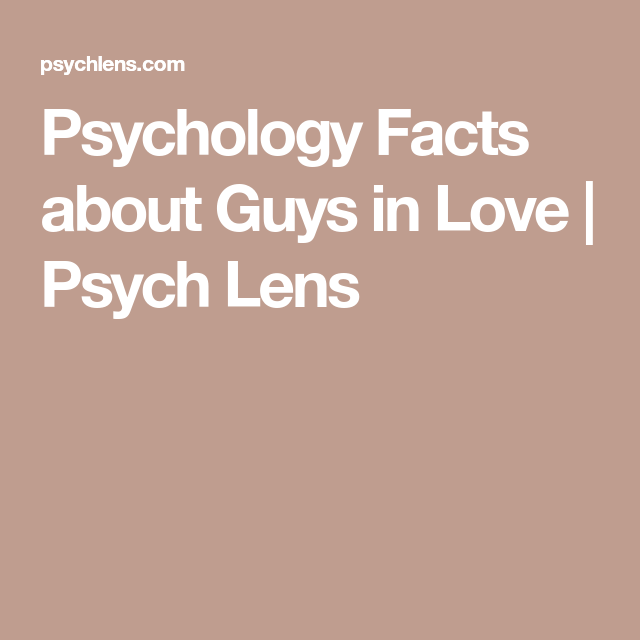 Psychology Facts about Guys in Love | LOVE quotes | Psychology facts