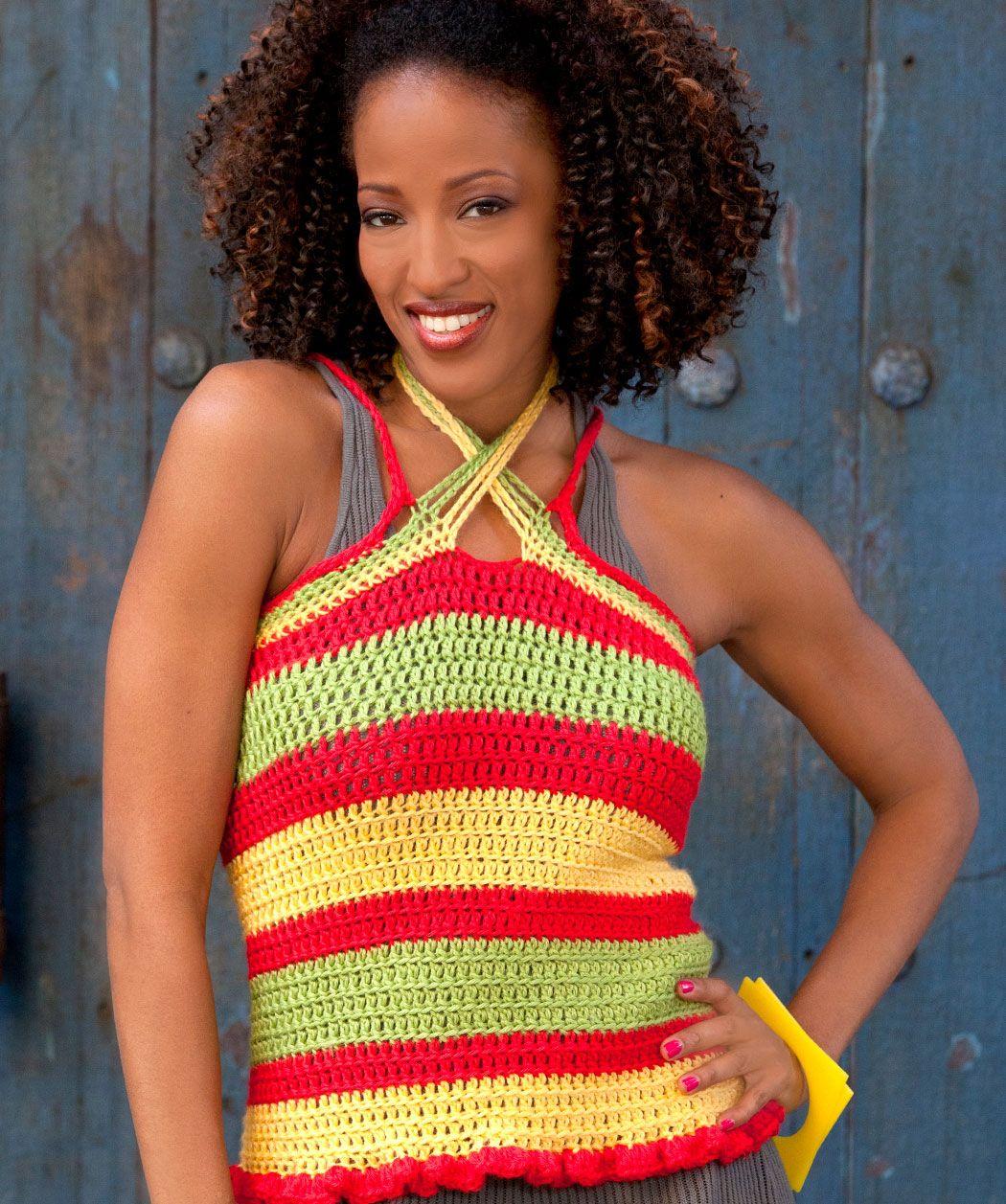 free crochet dress patterns for women | CROCHET FREE HALTER PATTERN ...