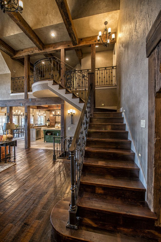 Photo of 20 Graceful Rustic Staircase Designs You're Going To Love
