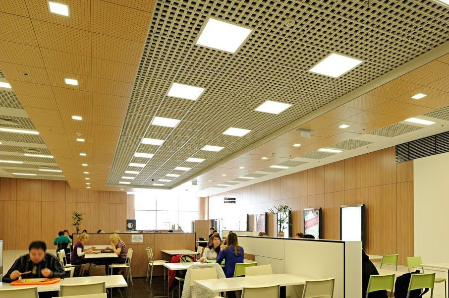 Mineral Fiber Suspended Ceiling Tile Visual Armstrong Ceilings Europe Drop Ceiling Grid Ceiling Grid Install Drop Ceiling